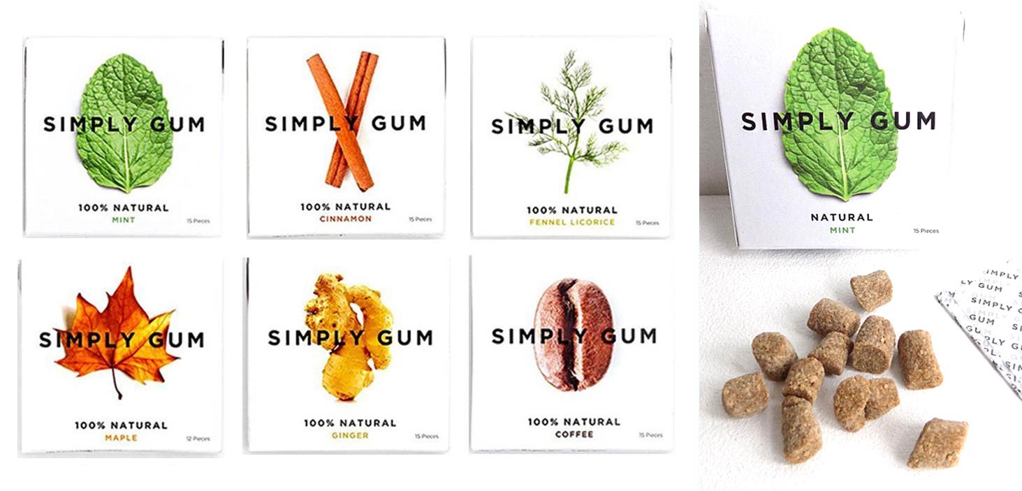 Натуральная жвачка Simply Gum