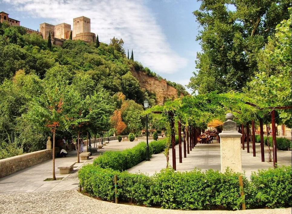 сады альгамбра