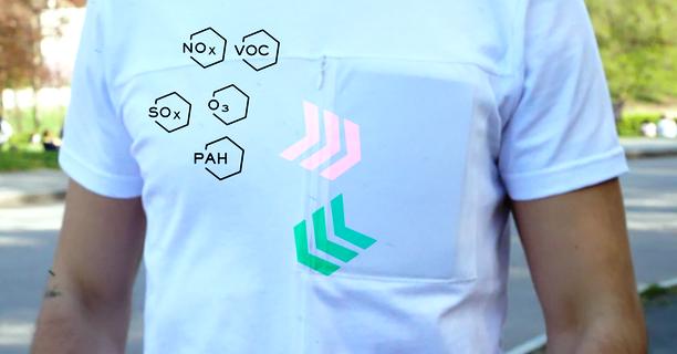 футболка очищает воздух