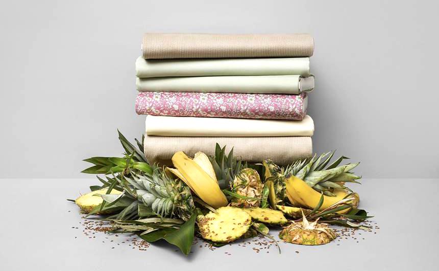 ткань из пищевых отходов