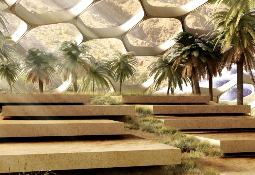 В пустыни Эмиратов возведут биокупола на 100% самообеспечении