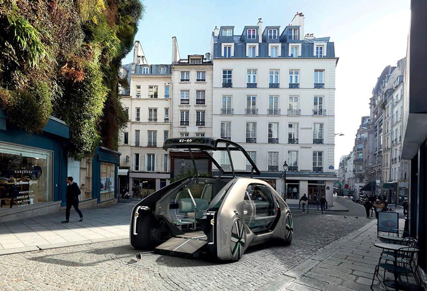 –EZ-GO – проект городского электро-робомобиля от Renault
