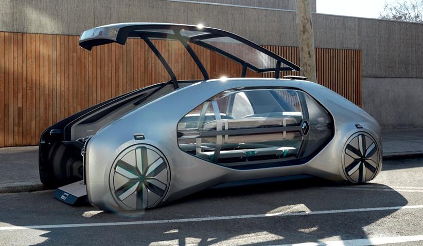 EZ-GO – проект городского электро-робомобиля от Renault