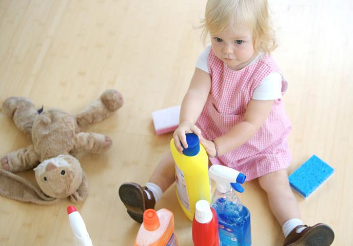 Бытовые чистящие средства вызывают полноту у детей