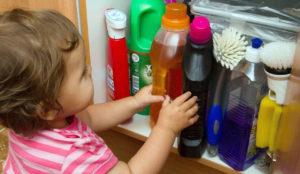 чистящие средства вызывают полноту у детей