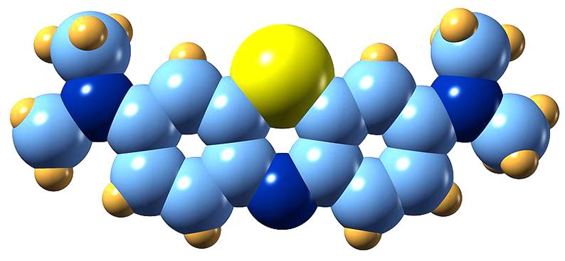 ecoizm.org структура метиленового синего вещества