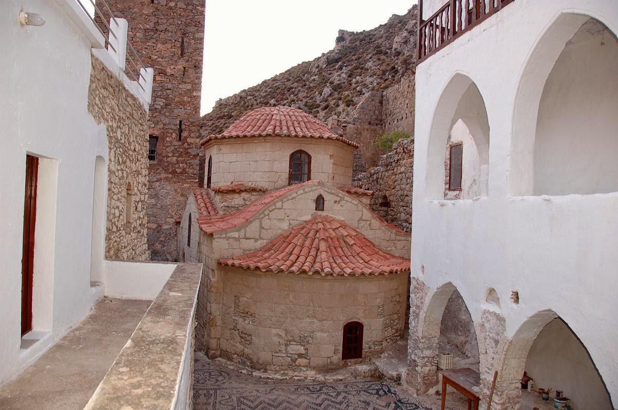Монастырь Святого Пантелеймона в Тилосе