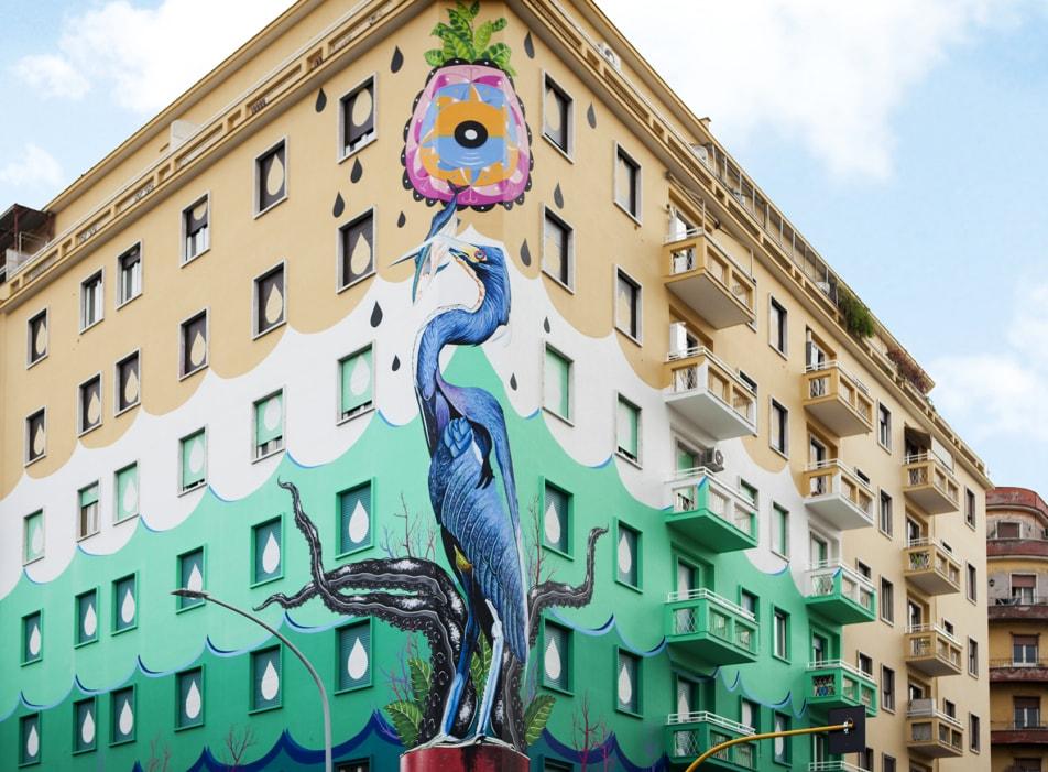 эко-граффити, которое очищает воздух в Риме