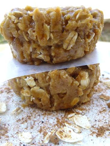 овсяно-яблочные печенья без выпечки рецепт