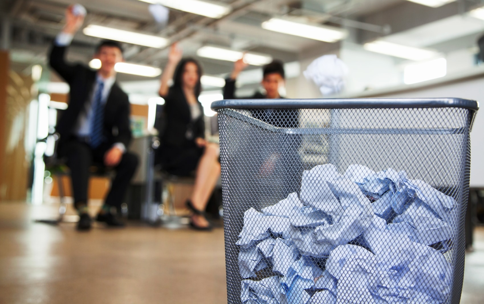 Бытовые отходы офисов