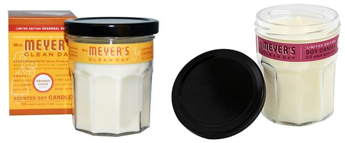 Mrs. Meyers Clean Day, ароматизированные соевые свечи.