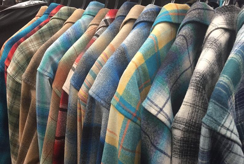 шерстяные рубашки
