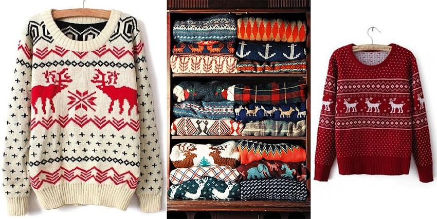 свитер в подарок на новый год