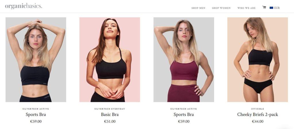 organicbasics женщины
