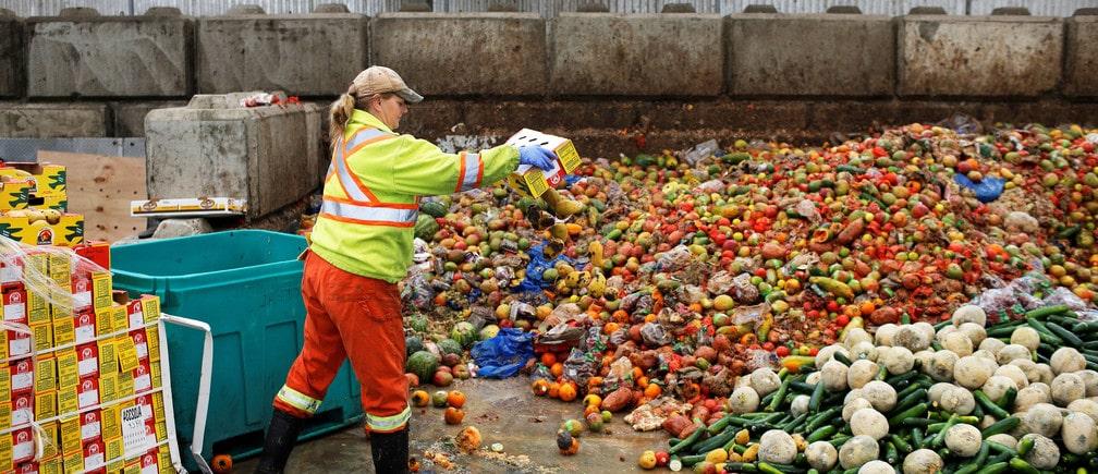 ecoizm пищевые отходы на фоне коронавируса
